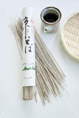 Soba noodles from Japan
