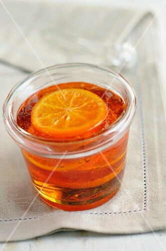 Apple and orange jelly