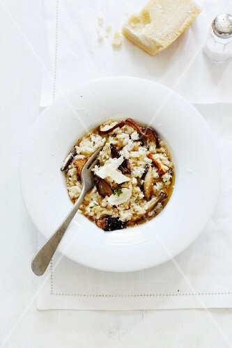 Mushroom Risotto with Parmesan