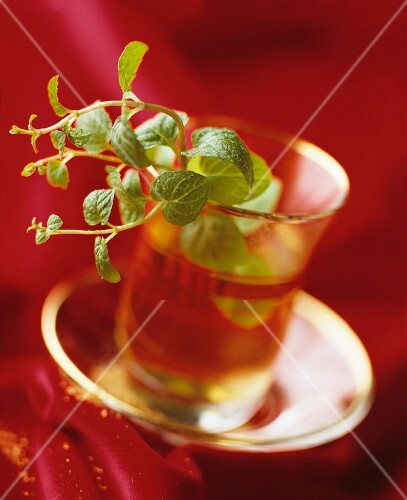 Peppermint tea and peppermint