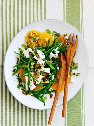 Green Bean Orange Salad