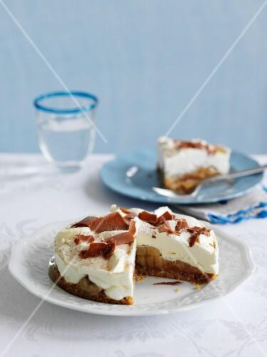 Banoffee Pie (banana tart, England)
