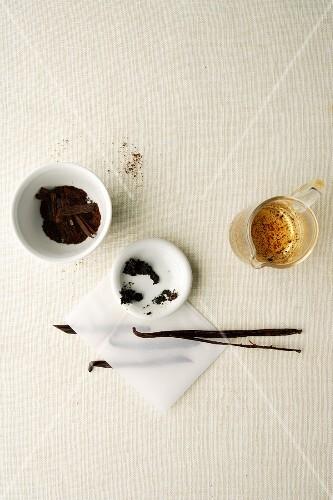 Vanilla still life