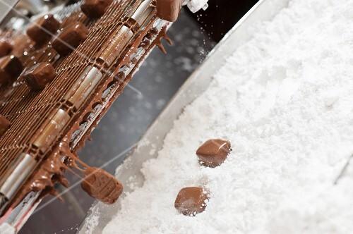 Schokoladenkonfekt herstellen