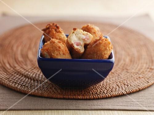 Croquettes with Serrano ham