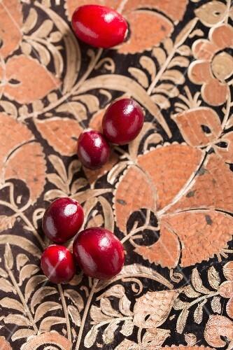 Fresh cranberries