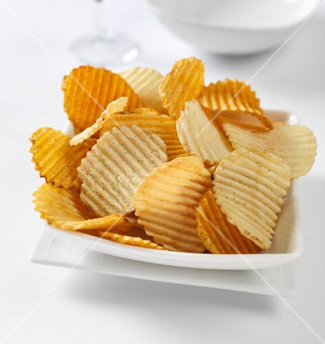 low fat crinkle crisps assorted flavours