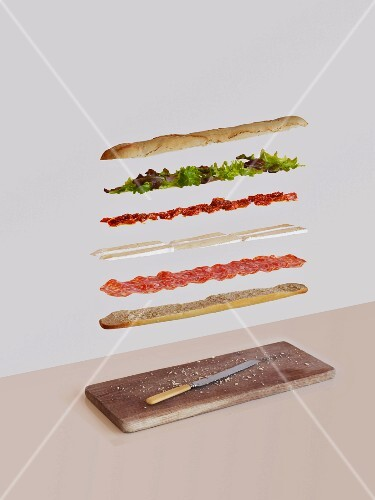 French sandwich deconstructed