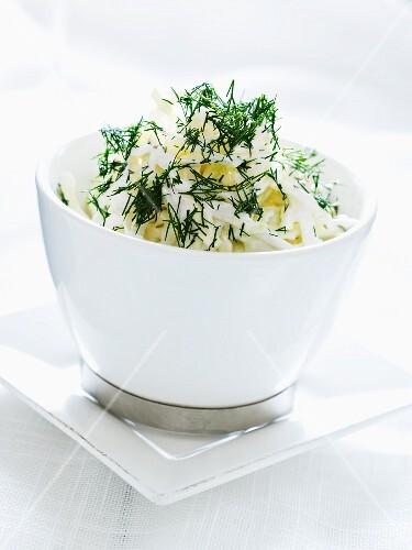 Celariac salad