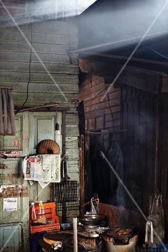 A Thai street kitchen