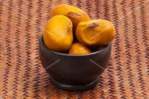 Pequi fruits, Brazil
