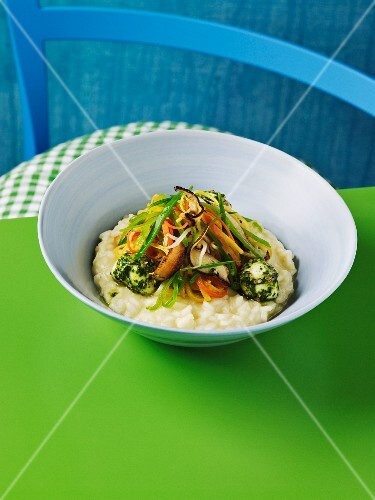 Vegetable risotto from Asia