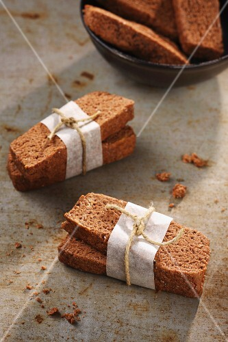 Financiers, wrapped in pairs