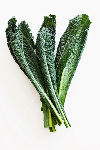 Black kale leaves