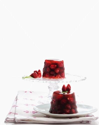 Wild strawberry jelly