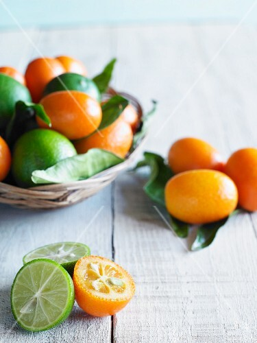 Kumquats and limes