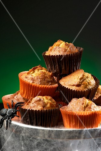 Carrot muffins for Halloween