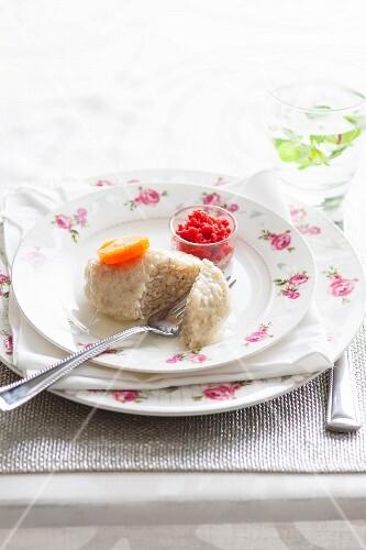 Stuffed fish (kosher fish cake)