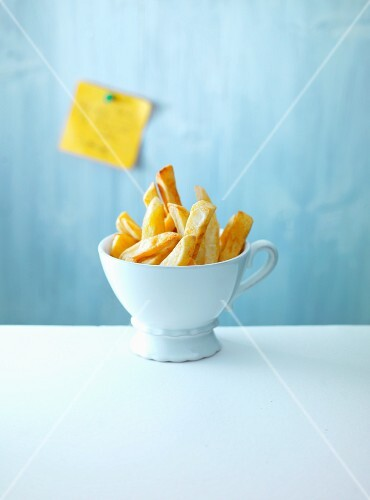 A cup of chips