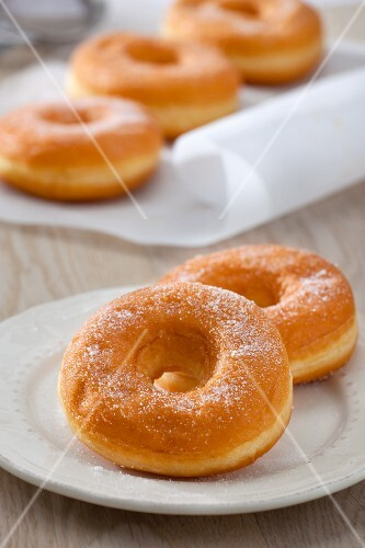 Sugared Donuts and Donut Holes