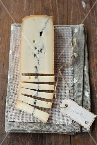 Morbier (semi-hard cheese, France)