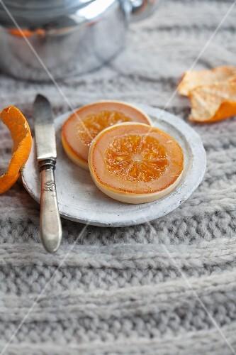 Orangentaler Weihnachtsgebäck.Orangentaler Kandierte Orangen Mit Bilder Kaufen 11267210