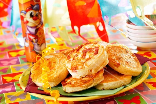 Pancakes for a children's party