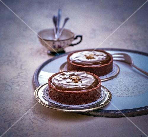 Chocolate cakes with Baileys