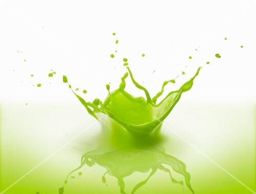 A splash of vegetable juice
