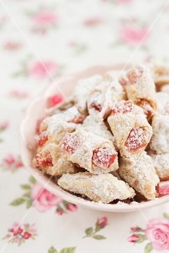 Turkish delight pastries