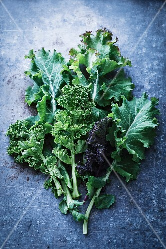 An arrangement of kale