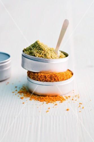 Zitronen-Verveine-Salz und Orangen-Salz