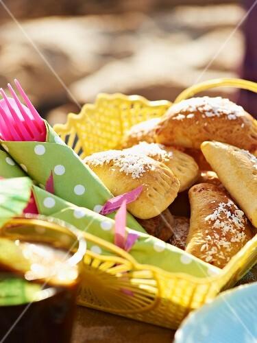 Banana turnovers for a Caribbean picnic