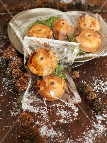 Mini meat pies as a Christmas present