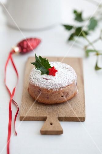Cranberry cake for Christmas