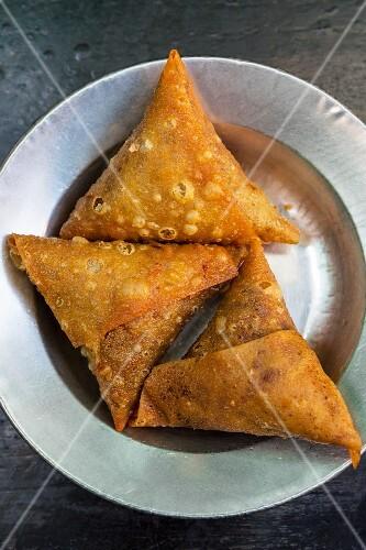 Samosas from Myanmar