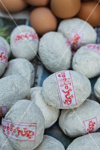 Pickled, salted eggs (Myanmar)