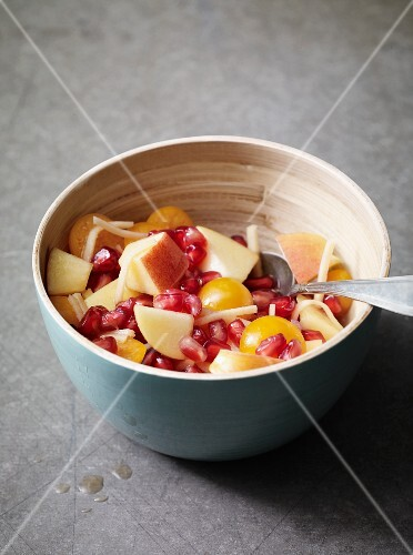 Fruit salad with ginger