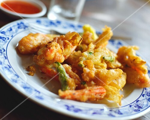 Vegetable tempura from Thailand