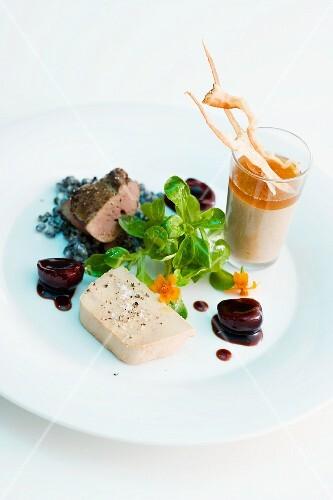 Variations on duck liver