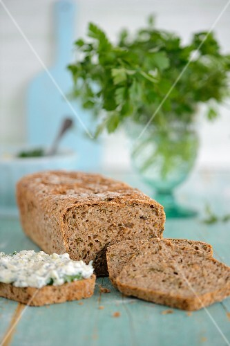 Sliced wholemeal bread