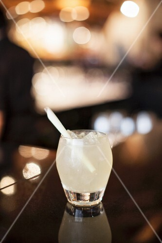 A gin cocktail