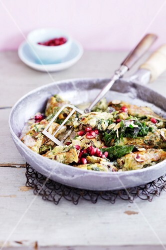 Stinging nettle leaf and pomegranate seed hash