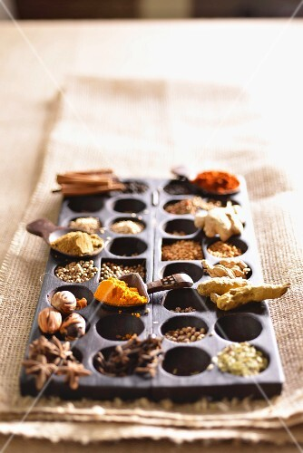 Various African spices