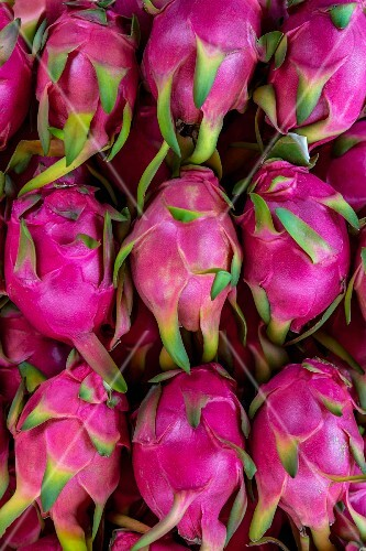 Dragon fruit (seen from above)