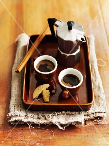 Moroccan spiced coffee with cinnamon