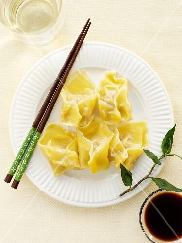 Wonton (stuffed dumplings, China)