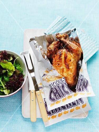 Roast chicken to take away