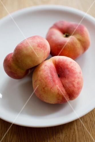 Three vineyard peaches