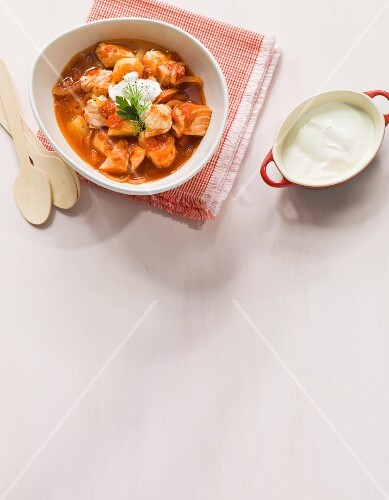Fish goulash